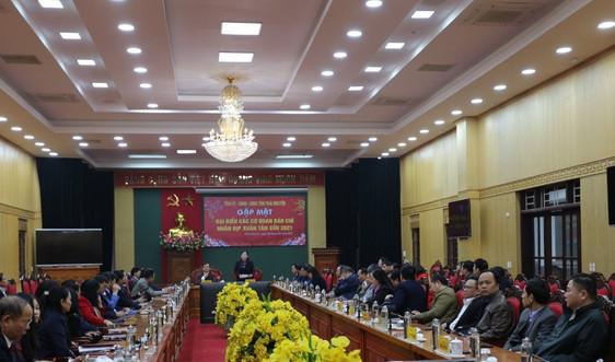 Thái Nguyên gặp mặt các cơ quan báo chí trên địa bàn tỉnh nhân dịp đón Xuân Tân Sửu 2021