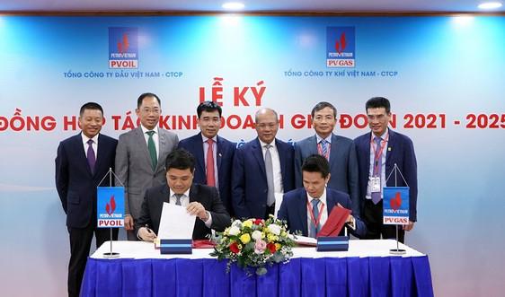 PV GAS và PVOIL ký kết Hợp đồng hợp tác kinh doanh giai đoạn 2021-2025