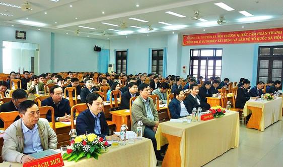 Sở TN&MT Quảng Bình triển khai kế hoạch, nhiệm vụ năm 2021