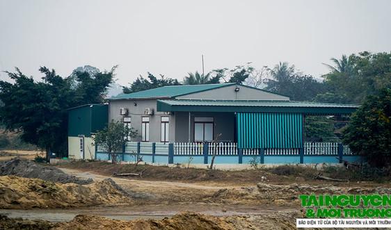 Nga Sơn (Thanh Hóa): Công ty Tuấn Thơ xây dựng nhà trái phép vi phạm hành lang thoát lũ