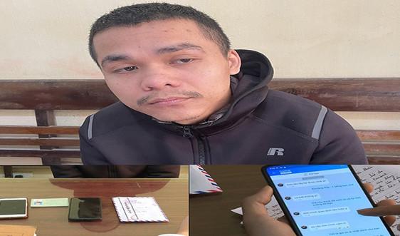 Thanh Hóa: Bắt đối tượng lừa đảo hàng trăm triệu đồng qua mạng xã hội