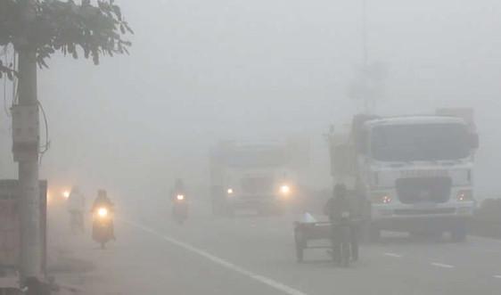 Dự báo thời tiết 26/1: Bắc Bộ thời tiết ấm áp, có sương mù