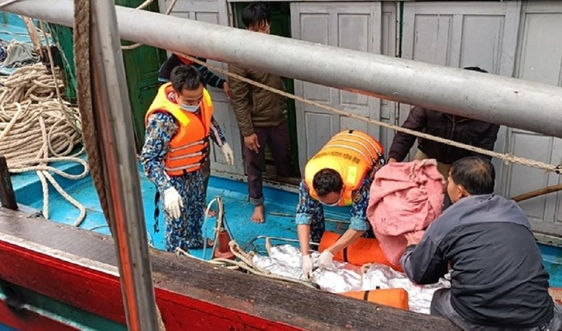 Nghệ An: Khẩn trương truy tìm tàu hàng đâm chìm tàu cá khiến 1 người tử vong