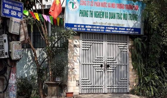 Nghệ An: Một doanh nghiệp dịch vụ quan trắc môi trường bị tạm đình chỉ
