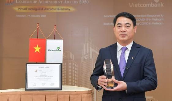 The Asian Banker bình chọn và trao tặng Vietcombank danh hiệu Ngân hàng được quản trị tốt nhất và Lãnh đạo xuất sắc trong ứng phó với đại dịch COVID-19