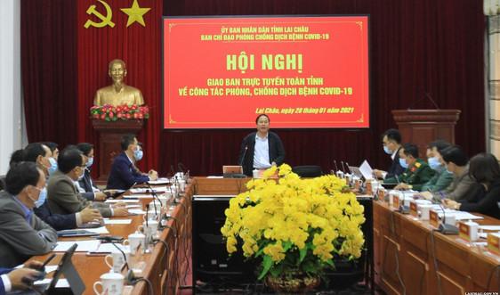 Lai Châu: Kích hoạt hệ thống phòng, chống dịch Covid-19