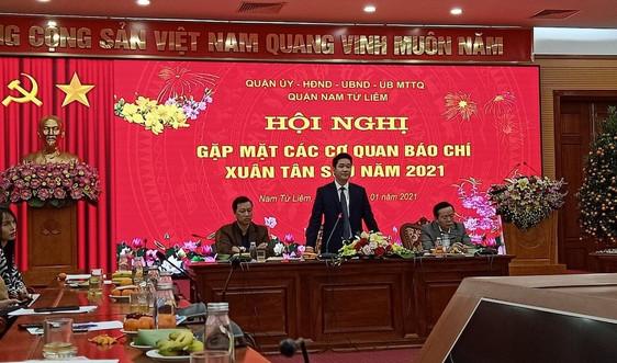Nam Từ Liêm, Hà Nội: Tăng cường xử lý vi phạm đất đai, trật tự xây dựng