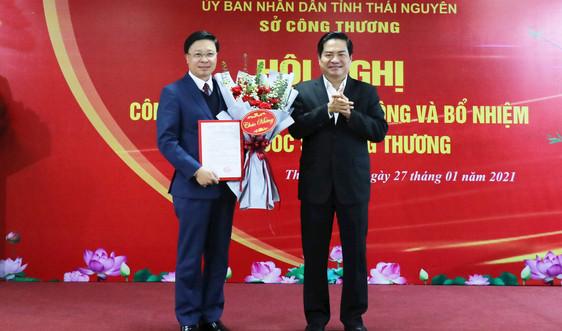 Thái Nguyên: Bổ nhiệm ông Nguyễn Bá Chính làm Giám đốc Sở Công Thương