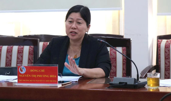 Lãnh đạo Bộ TN&MT tiếp công dân định kỳ tháng 1/2021