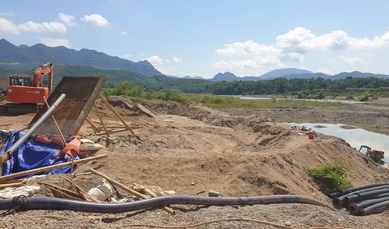 Thanh Hóa: Hủy kết quả trúng đấu giá mỏ cát số 177
