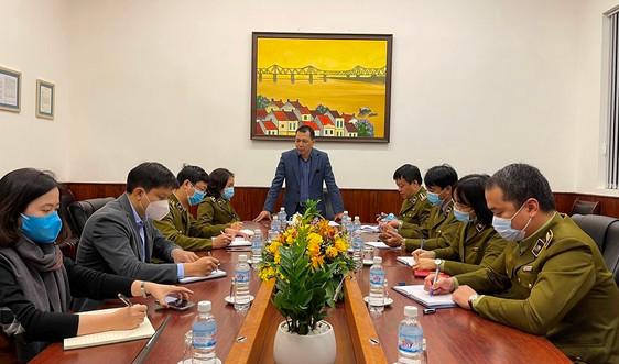 """Thứ trưởng Đặng Hoàng An  """"Không được để bất cứ kiểm soát viên nào nhiễm bệnh"""""""