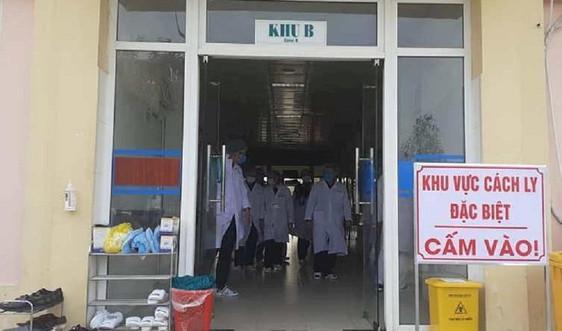 Nghệ An: Theo dõi sức khỏe hàng trăm người trở về từ vùng dịch