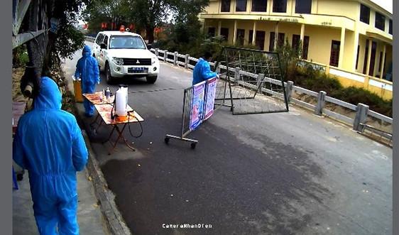 Bắc Ninh: Lắp đặt camera giám sát tại các chốt kiểm soát dịch bệnh COVID-19