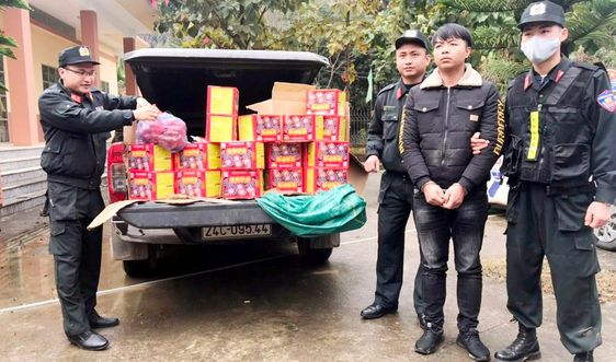 Lào Cai: Liên tiếp bắt giữ nhiều vụ buôn bán pháo lậu