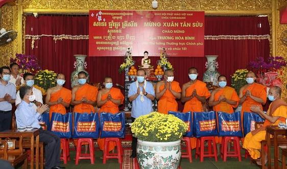 Phó Thủ tướng Trương Hòa Bình thăm, chúc Tết chư tăng, Phật tử Nam tông Khmer