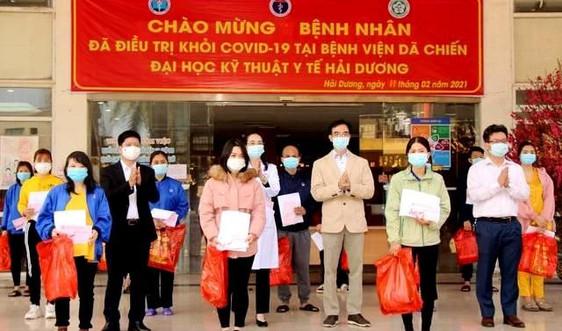 Hải Dương: Thêm 27 bệnh nhân COVID-19 khỏi bệnh, được ra viện