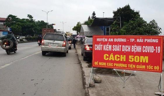 Hải Phòng: Dừng tiếp nhận các công dân trở về từ tỉnh Hải Dương (từ 16/2 đến 3/3/2021)