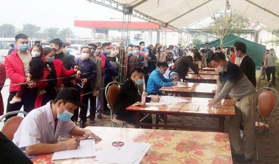 Lào Cai: Kiểm soát chặt người từ vùng dịch trở về địa phương