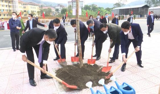 Sơn La ra quân trồng cây mừng Đảng, mừng Xuân Tân Sửu 2021