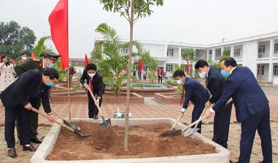 Hà Nam đồng loạt phát động tết trồng cây tại các huyện, thị xã, thành phố