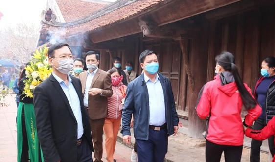 Thái Bình: Dừng các hoạt động đông người, siết chặt công tác phòng, chống dịch Covid-19