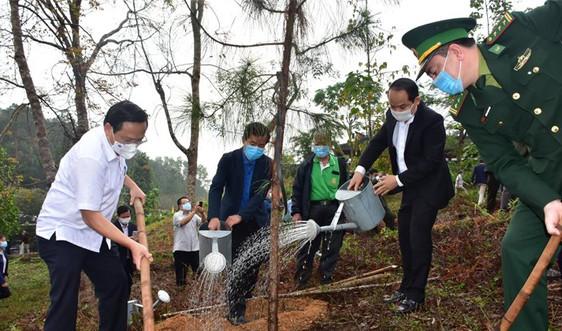 """Thừa Thiên Huế: Phát động """"Tết trồng cây đời đời nhớ ơn Bác Hồ"""" xuân Tân Sửu"""