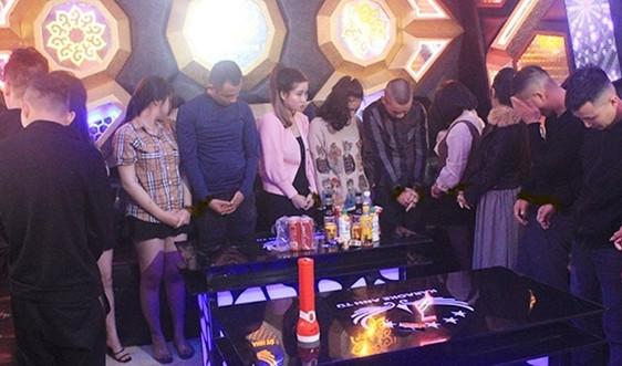 Hà Tĩnh: Bắt giữ nhiều đối tượng đến từ Hà Nội, Bắc Giang tụ tập sử dụng ma túy trong quán Karaoke
