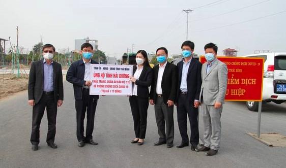 Thái Bình: Sẵn sàng hỗ trợ tiếp nhận người cách ly, chi viện cán bộ y tế, thực hiện xét nghiệm giúp Hải Dương