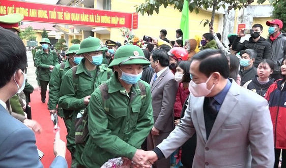 Lạng Sơn: Sẽ tổ chức giao nhận quân nhanh gọn để phòng chống dịch Covid -19