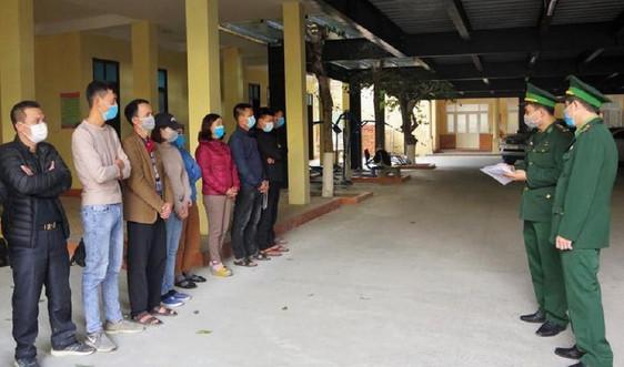 Nghệ An: Bắt đối tượng người Lào đưa người vượt biên trái phép
