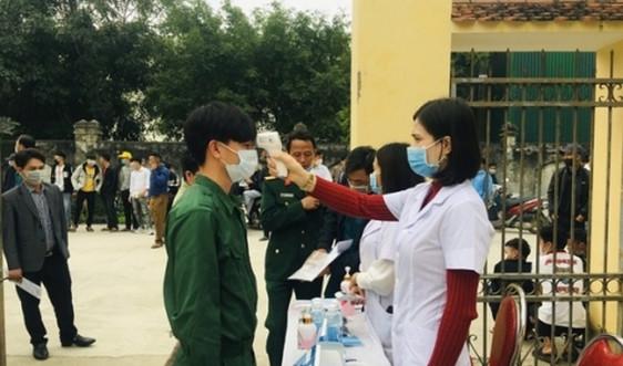 Nghệ An: Xét nghiệm virus SARS-CoV-2 cho toàn bộ tân binh