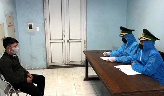 Hà Tĩnh: Bắt giữ đối tượng trốn cách ly y tế khi nhập cảnh