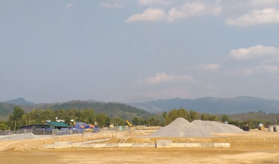 Dành 169,120ha diện tích đất để thực hiện Dự án Cảng Hàng không Điện Biên
