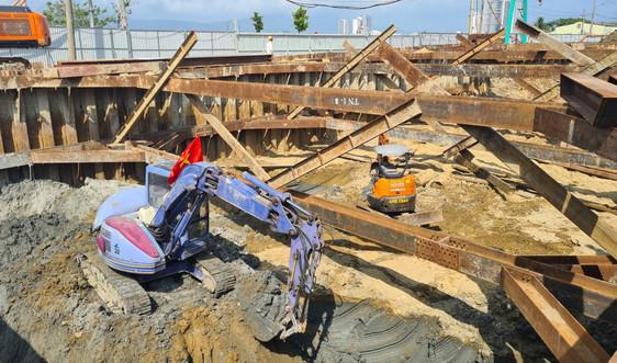 Công trình trăm tỷ ở Đà Nẵng chậm tiến độ