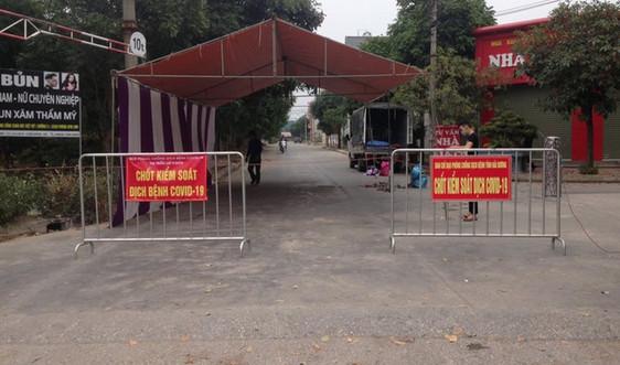 Hải Dương: Cách ly y tế một phần khu dân cư ở huyện Bình Giang