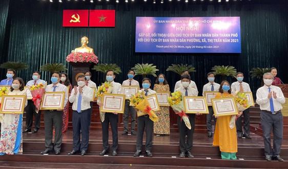 Chủ tịch UBND TP.HCM đối thoại với 312 Chủ tịch UBND xã - phường - thị trấn