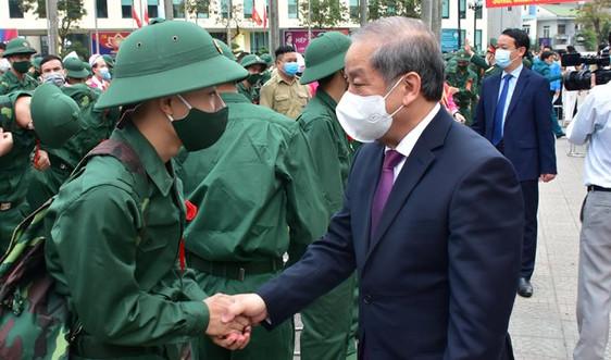 Hơn 1.400 thanh niên Thừa Thiên Huế lên đường nhập ngũ