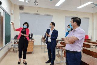 Bắc Ninh: Kiểm tra công tác phòng, chống dịch COVID-19 tại các cơ sở giáo dục