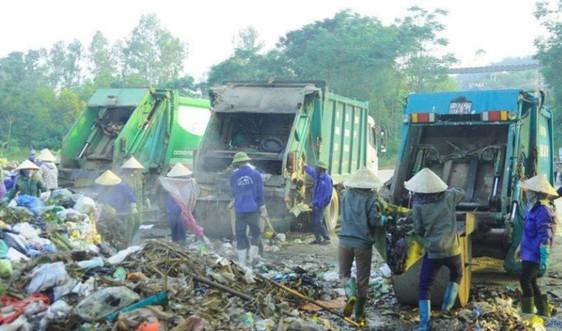 Đức Thọ (Hà Tĩnh): Nỗi lo ô nhiễm từ rác thải tồn ứ ở bãi Phượng Thành