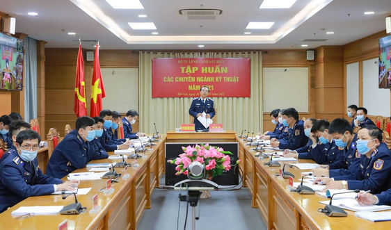 Tập huấn các chuyên ngành kỹ thuật Cảnh sát biển năm 2021