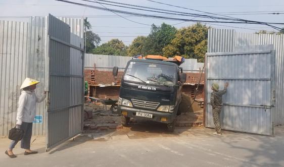 Phường Tân Thịnh (TP Thái Nguyên): Ngang nhiên xây dựng nhà trái phép