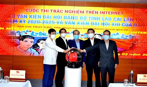 Lào Cai: Ra mắt phầm mềm Cuộc thi trắc nghiệm tìm hiểu văn kiện Đại hội Đảng