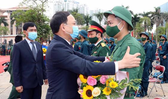 Quảng Ninh: Hơn 2.000 thanh niên lên đường nhập ngũ
