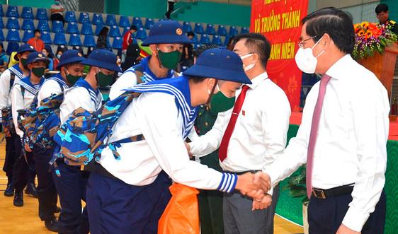 Bà Rịa Vũng Tàu: Gần 2 ngàn thanh niên tòng quân nhập ngũ