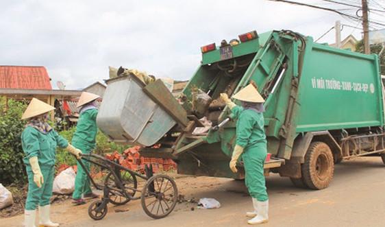 Cấp thiết xử lý, tái chế rác thải nông thôn