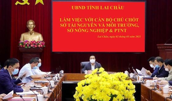Sở TN&MT Lai Châu: Đề xuất giải quyết 7 khó khăn, vướng mắc trong quản lý đất đai