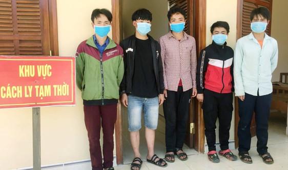 Lại thêm một nhóm người nhập cảnh trái phép từ Lào vào Quảng Nam