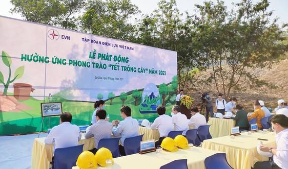 """EVN tổ chức phát động hưởng ứng phong trào """"Tết trồng cây"""" năm 2021"""