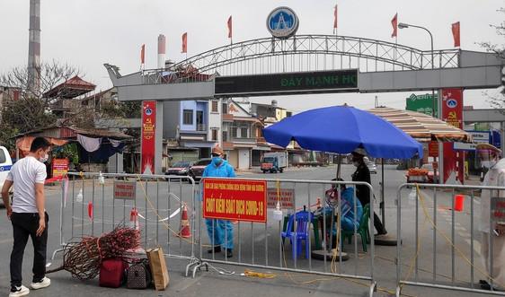 TP. Chí Linh thực hiện giãn cách xã hội 10 thôn, khu, cụm dân cư