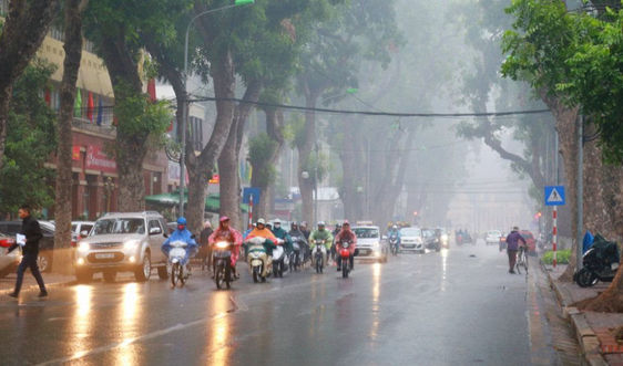Dự báo thời tiết ngày 9/3: Hà Nội sáng mưa nhỏ, đêm trời rét